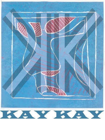 Kay Kay logo colour baby blue and pink